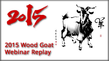 2015 Year of the Wood Goat Webinar feng shui Home 2015Webinar